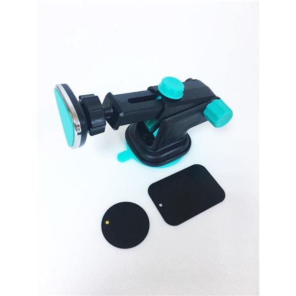 Ayarlı Kızaklı Ultra Güçlü Mıknatıslı Vantuzlu Telefon Tutucu