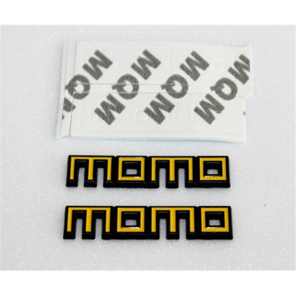 """""""MOMO"""" Paslanmaz Metal Sarı Siyah Arma"""