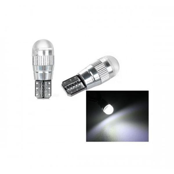 T10 Model Beyaz Ledli Projektör Lens Mercek Park Ampülü